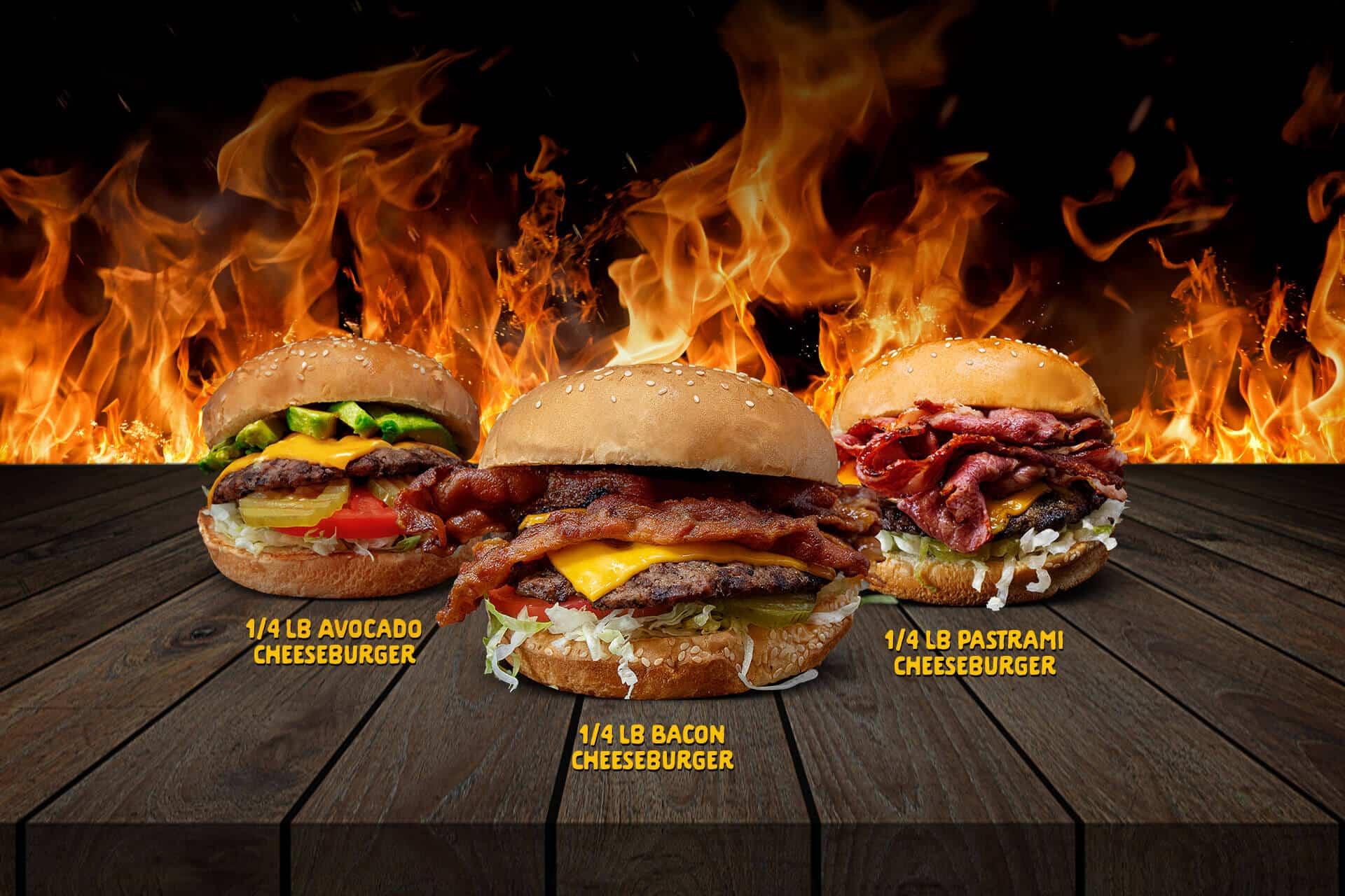 Boy's Hamburgers